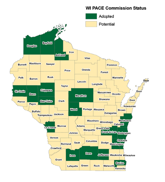 Pace Financing Now In Place In 19 Wisconsin Counties Renew Wisconsin