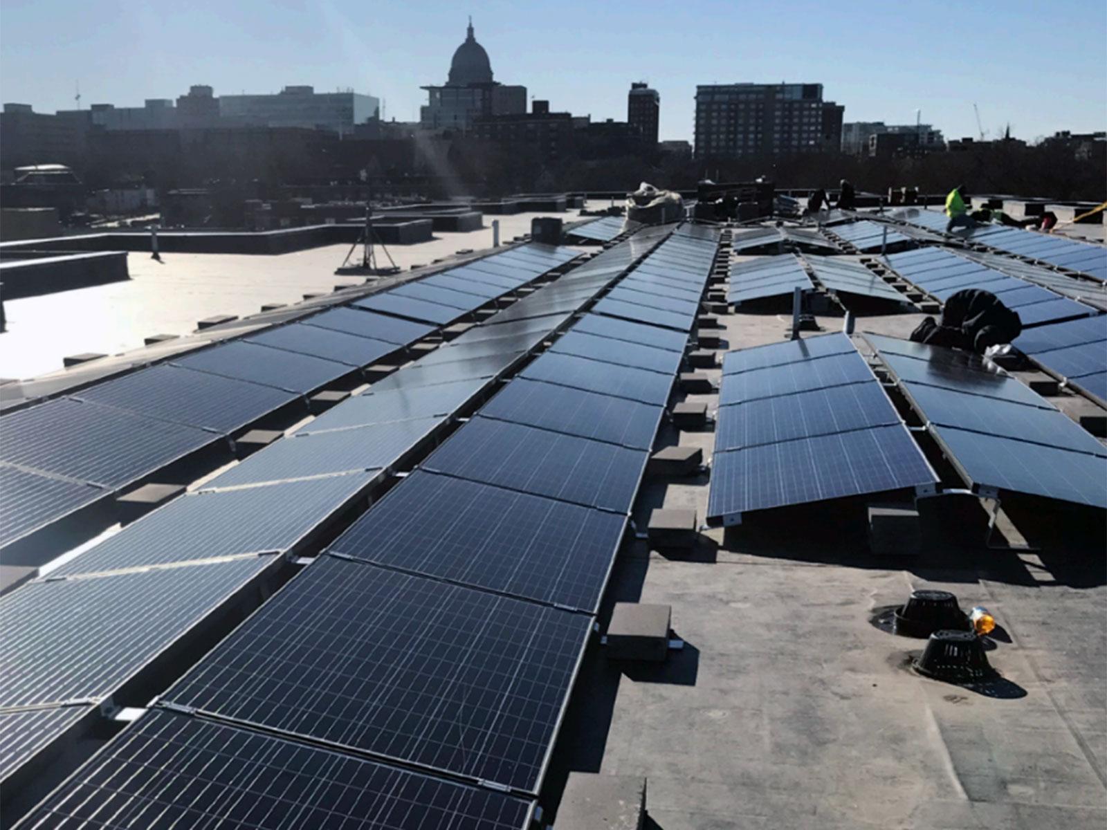 Solar Energy Renew Wisconsin Intelligent Heat And Power Llc Geothermal Wind Veritas Village