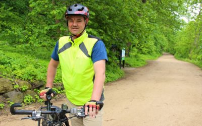 Professor to bike 2,000 km to raise solar energy awareness