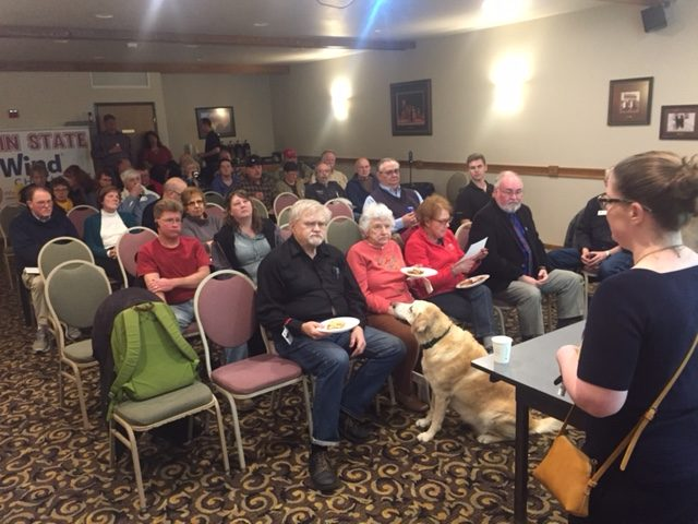Local Residents Discuss Wind Energy in Wisconsin