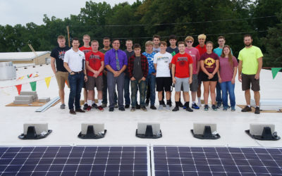 Juda Students Get Hands-On Lesson in Solar Power