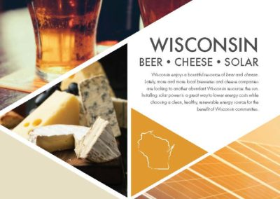 Beer, Cheese, and Solar