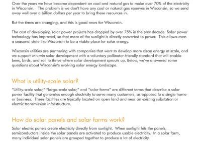 Solar Farm FAQ