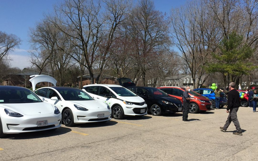 Second Annual Earth Day Electric Vehicle Parade to be Hosted by Dane County, RENEW Wisconsin, and Slipstream