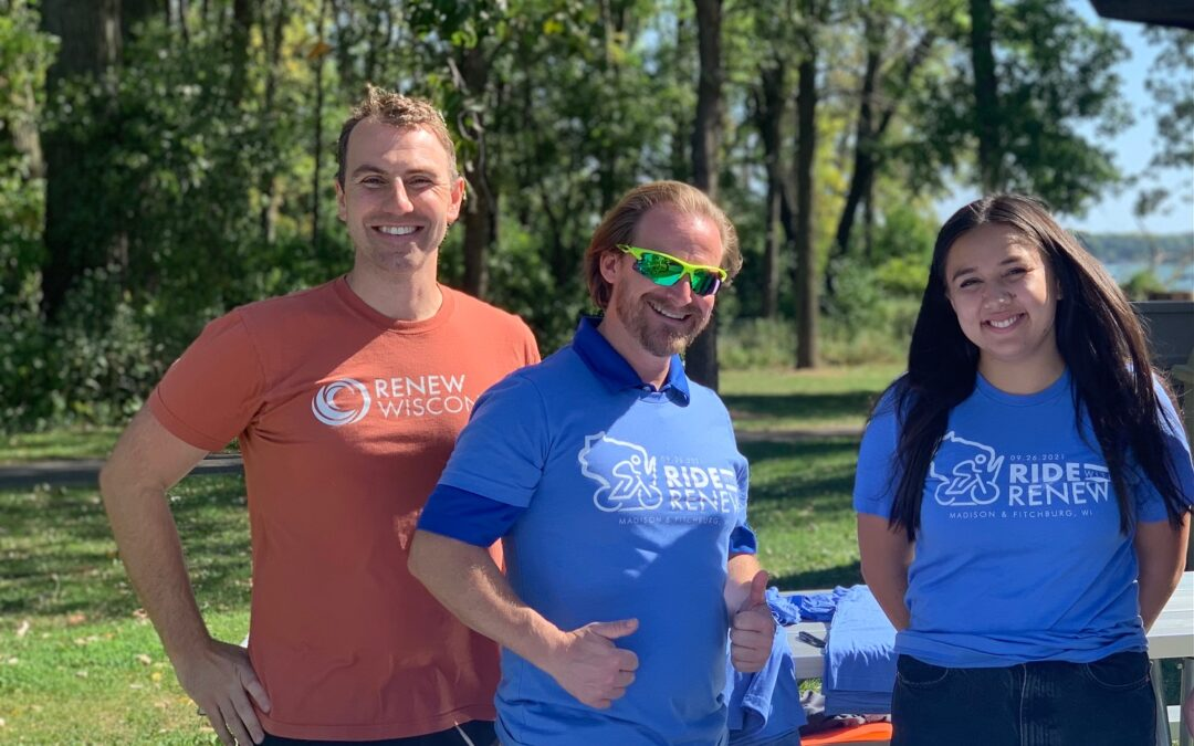 2021 Ride with RENEW in Madison and Fitchburg